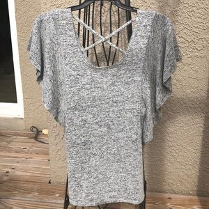 Tops - SUPER SOFT Ladies Grey Top